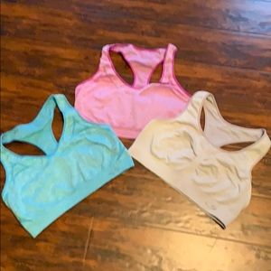 Set of 3 xl champion c9 sports bras